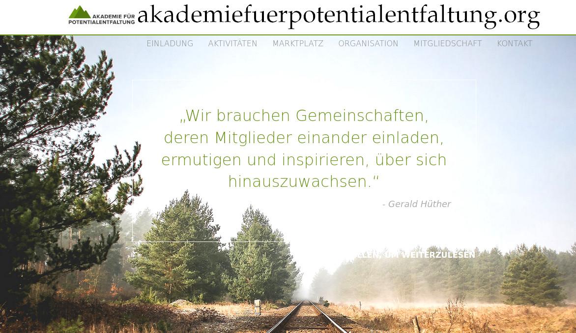 https://www.akademiefuerpotentialentfaltung.org/